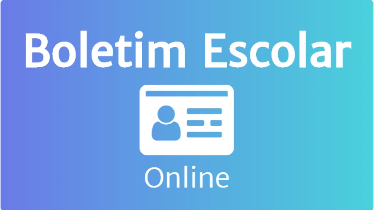 Boletim Escolar Online 2021