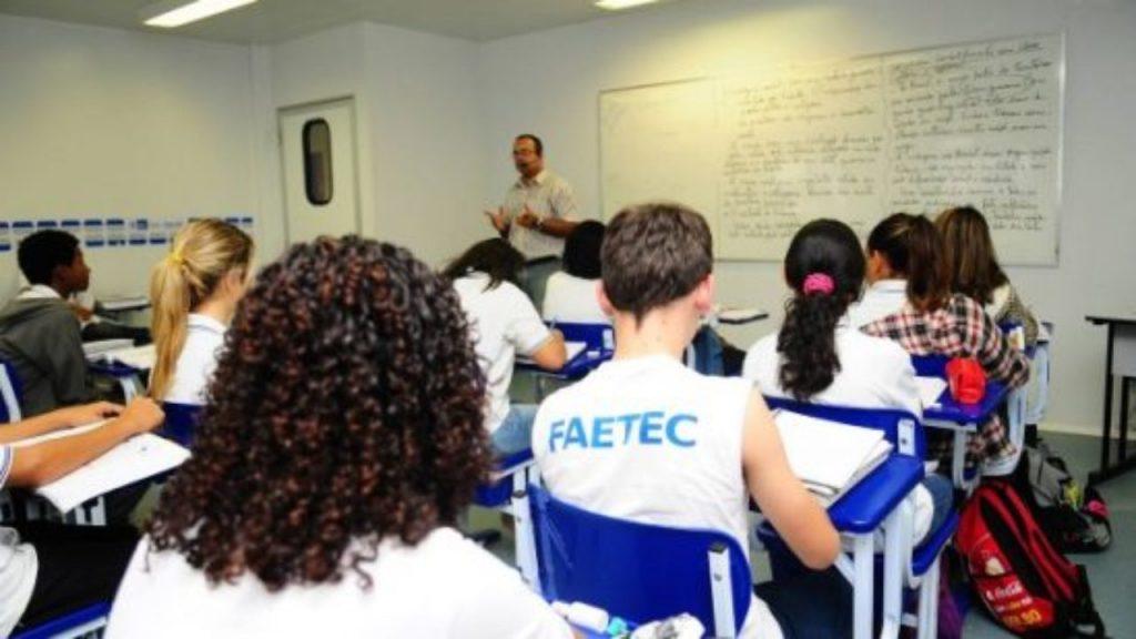 FAETEC 2021 como funciona