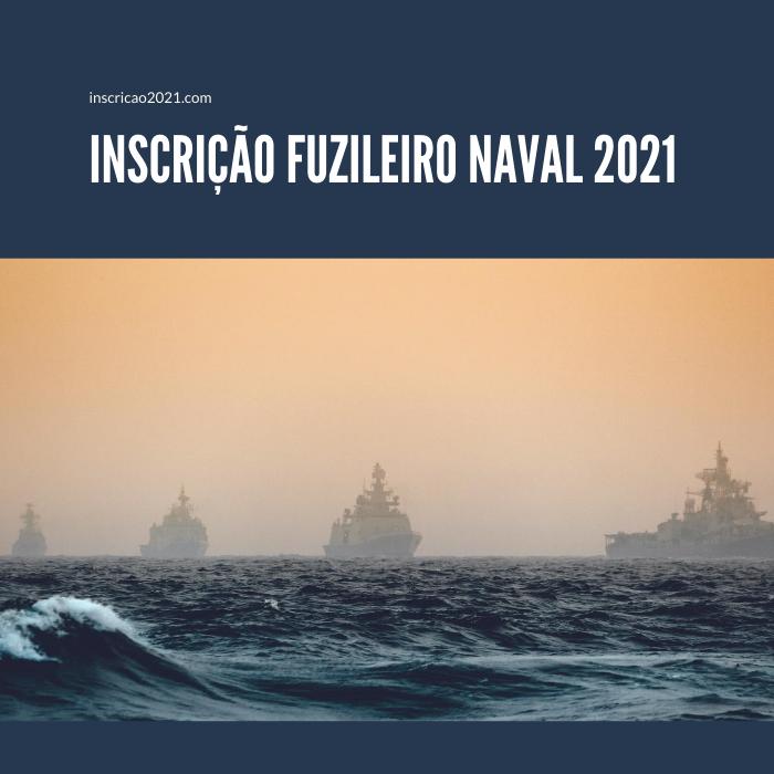 Inscrição Fuzileiro Naval 2021
