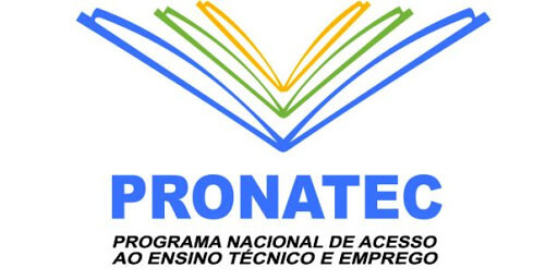 Logo do Pronatec - Programa Nacional de acesso ao ensino técnico e emprego