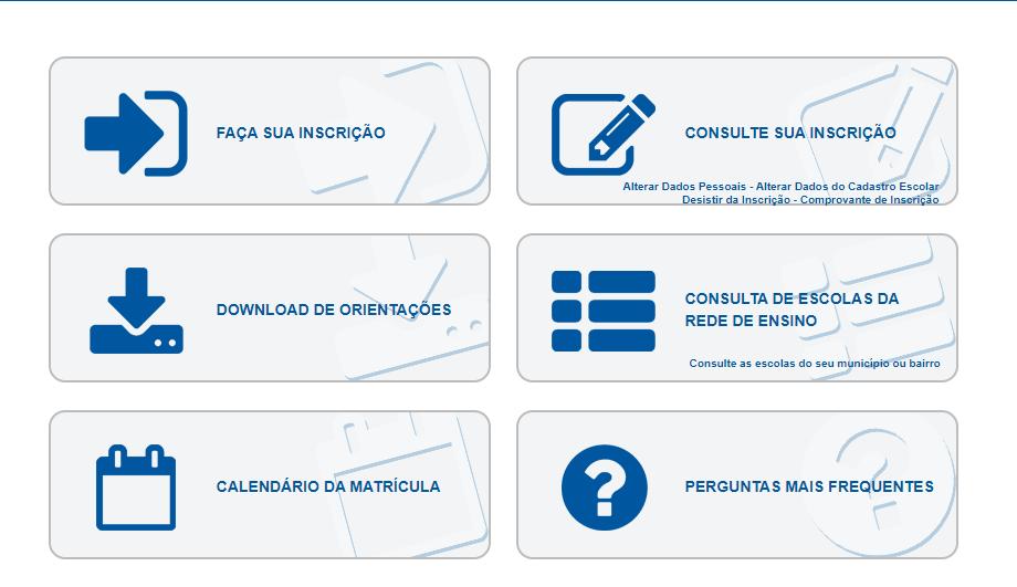 Cadastro Rede Estadual Recife 2021