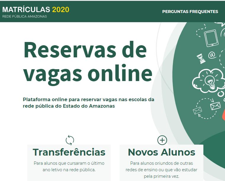 Matrícula Manaus 2021