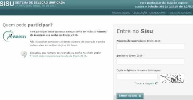 Sisu 2022: Inscrição