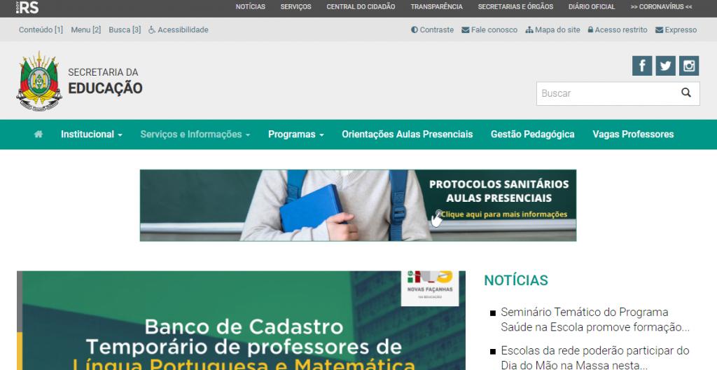 Matrícula Porto Alegre 2022: Passo a passo